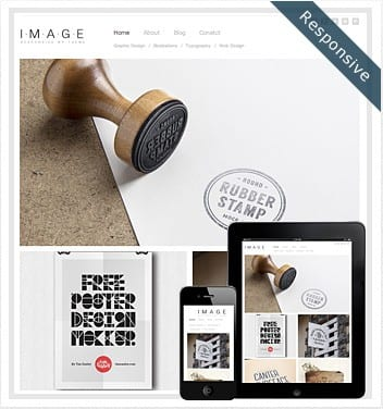 premium wordpress templates - image-responsive-theme
