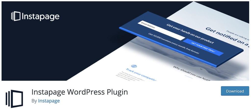 Plugin WordPress Instapage