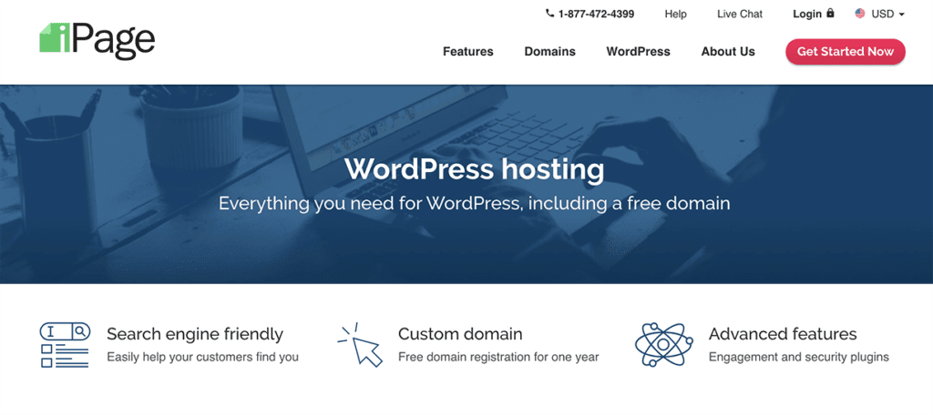 iPage Cheap WordPress Hosting Plan 2020