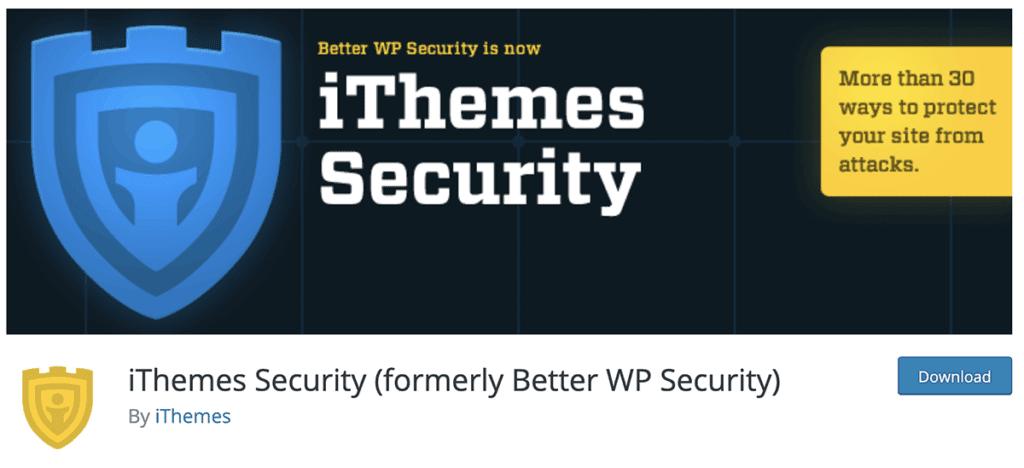 iThemes Security Plugin 2020