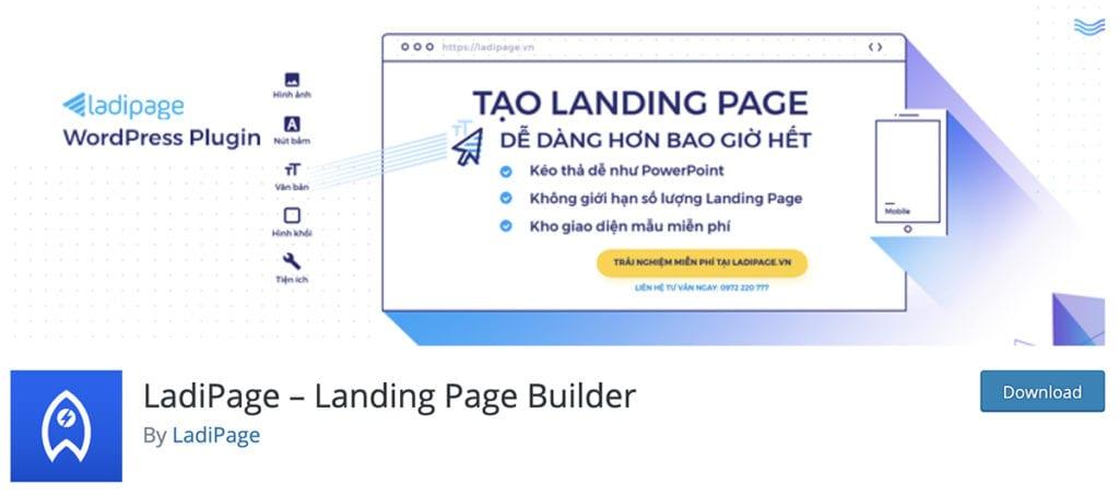 LadiPage - Générateur de pages de destination