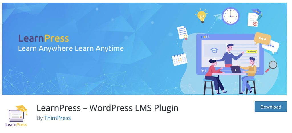 LearnPress - Plugin WordPress LMS