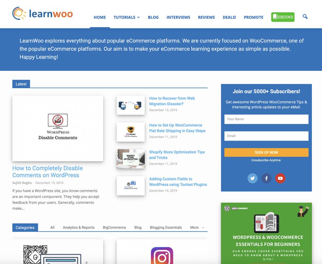 learn woo blog