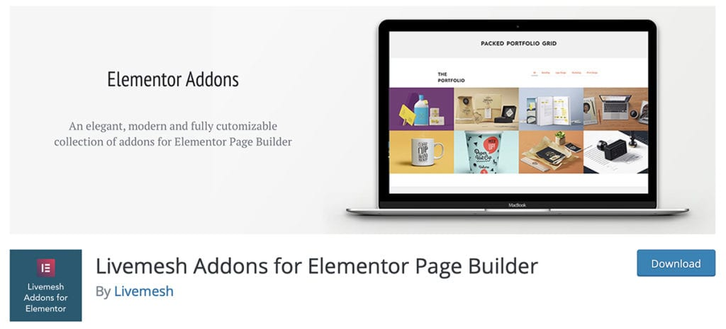 Livemesh Addons for Elementor Page Builder
