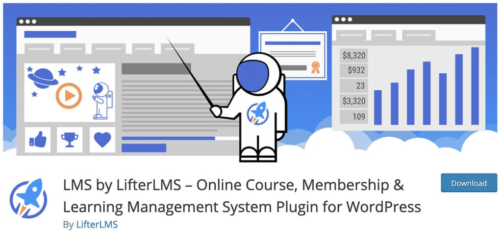 LMS by LifterLMS – Online Course, Membership & Learning Management System Plugin for WordPress