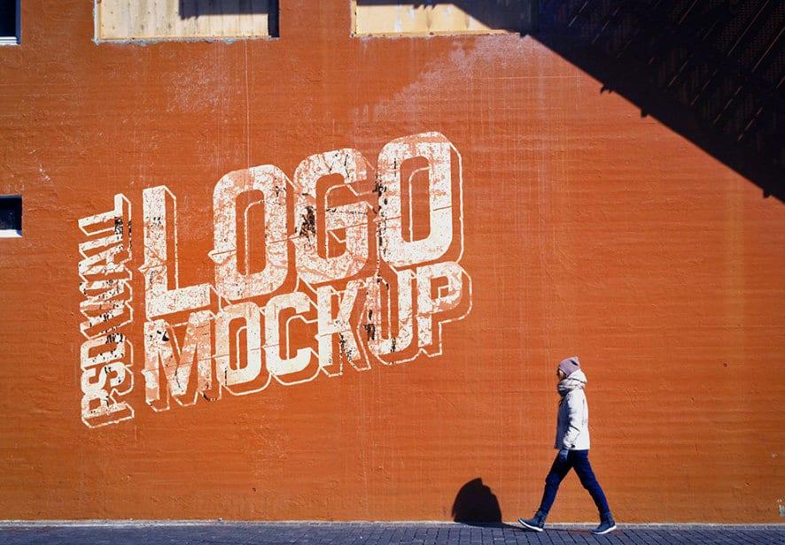 Best Free Logo PSD Mockup Templates 2019 - Dessign