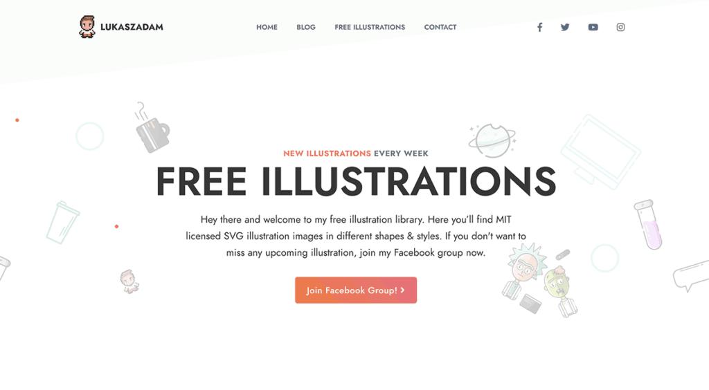 17 Free Illustrations Sites Get Free Illustrations Vectors Best 2020