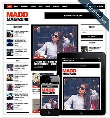 Madd Magazine WordPress Theme – Free