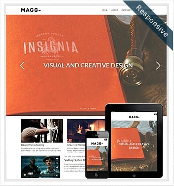 premium wordpress templates - magg-theme