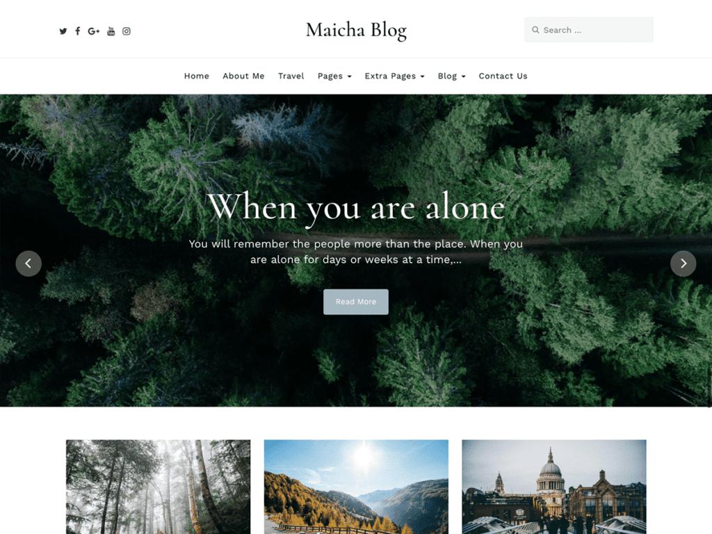 Maicha Blog