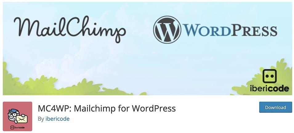 MC4WP: Mailchimp for WordPress