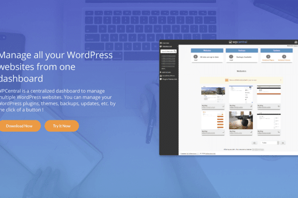 How To Manage Multiple WordPress Websites With wpCentral?