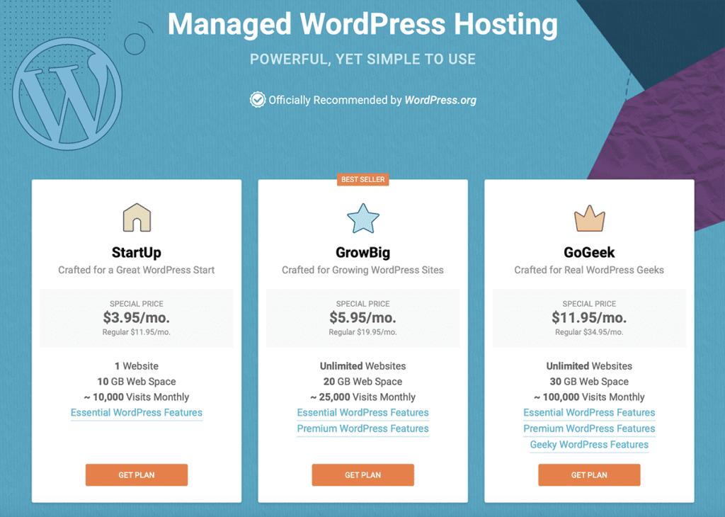 Managed WordPress Hosting Plan