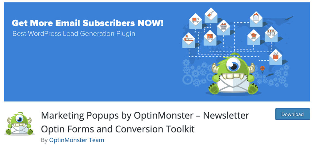 Marketing Popups by OptinMonster – Newsletter Optin Forms and Conversion Toolkit
