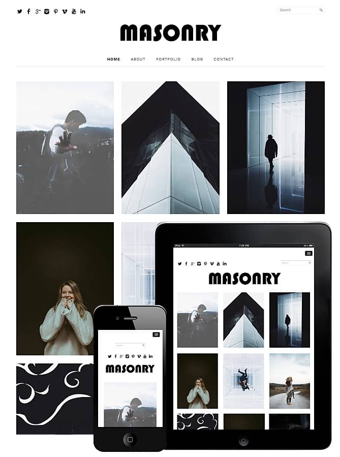 Free Masonry Theme WordPress