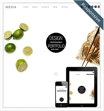 premium wordpress templates - media-theme-wordpress