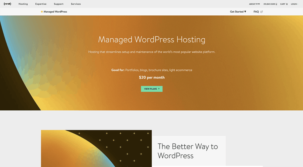 MediaTemple Managed WordPress Hosting Billed Monthly