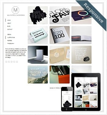 premium wordpress templates - mini-portfolio-wordpress-theme