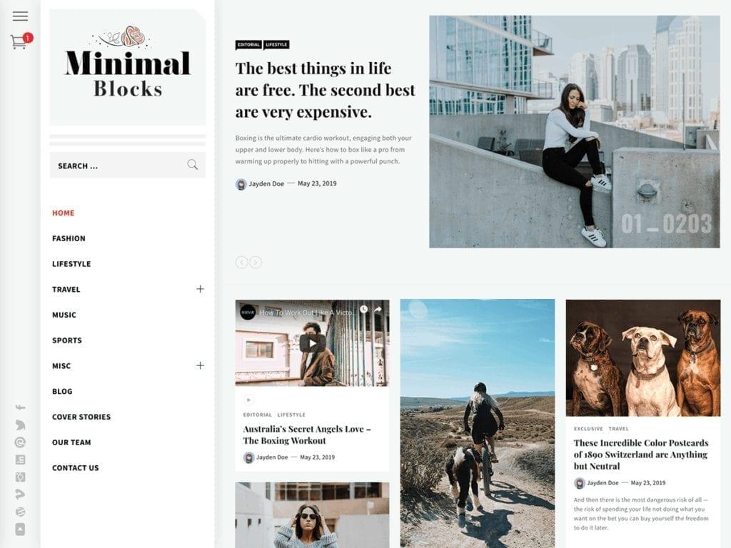 minimal blocks