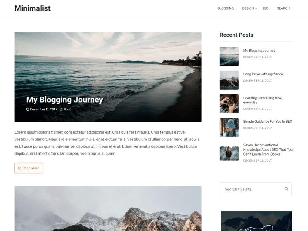 clean blogging