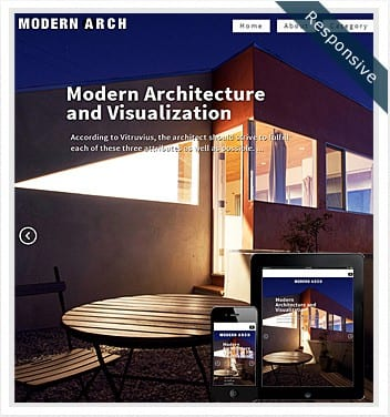 premium wordpress templates - modern-architecture-theme-responsive