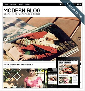 premium wordpress templates - modern-blog-theme-wordpress