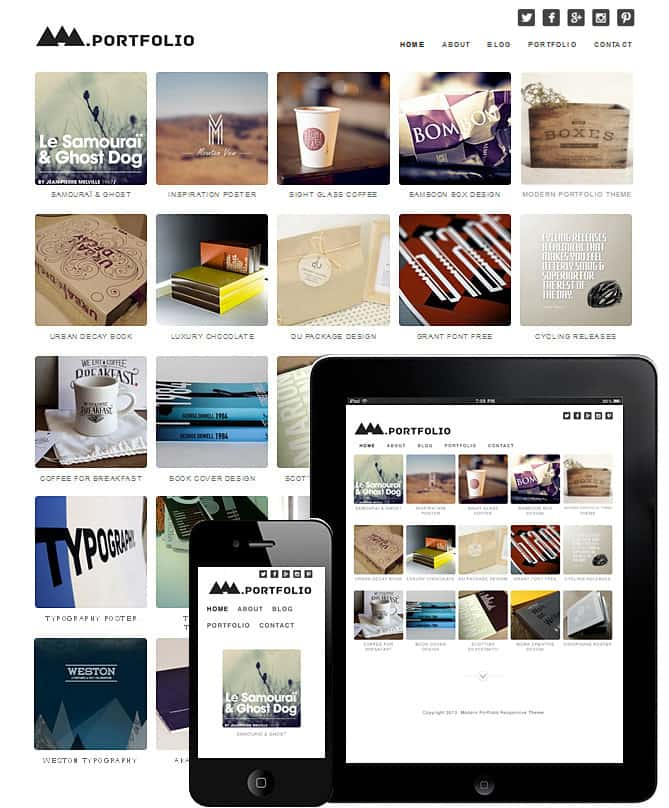 Modern Portfolio WordPress Theme - Best WordPress Themes for ...