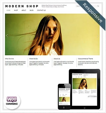 premium wordpress templates - modern-shop-responsive-theme
