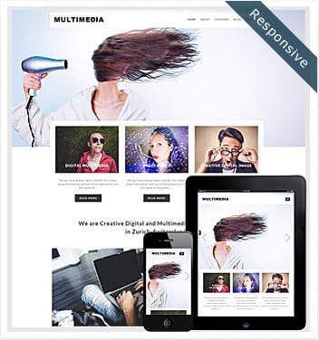 premium wordpress templates - multimedia-theme