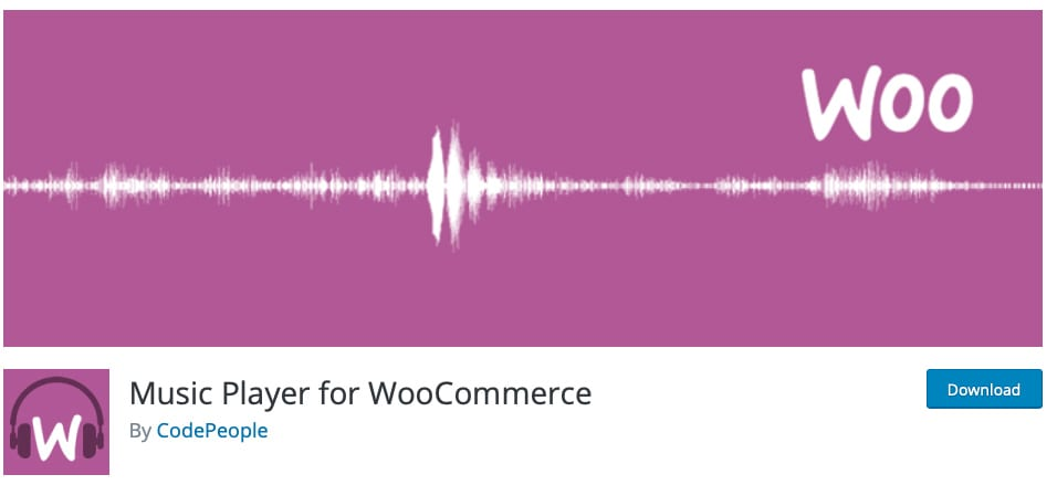Music Player for WooCommerce