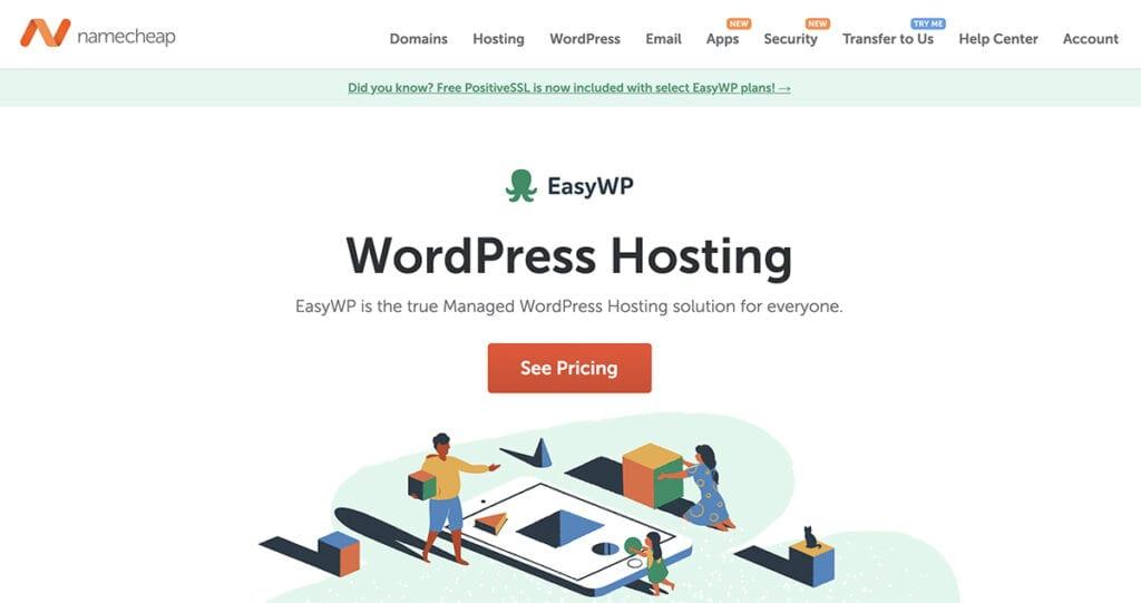 namecheap 3x fastest hosting