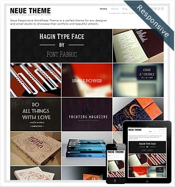premium wordpress templates - neue-infinite-scroll-theme