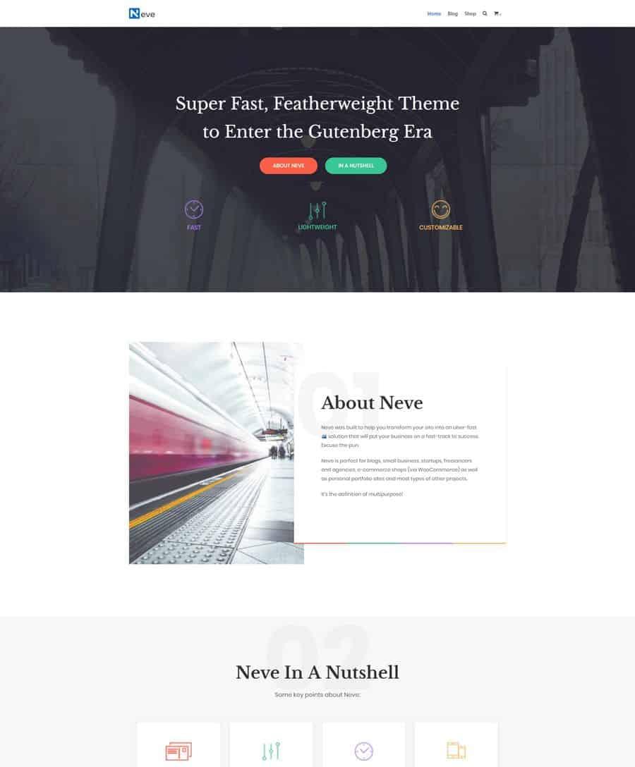 20+ Best Free Creative Portfolio Themes (WordPress 2019)