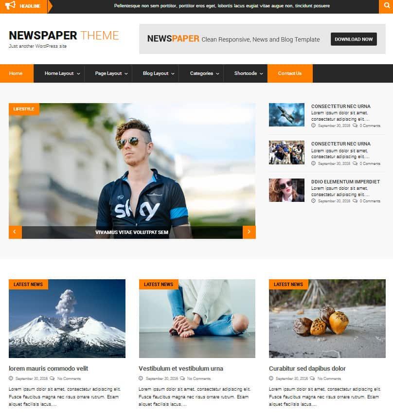 40 Best News Newspaper And Magazine Wordpress Themes 2018