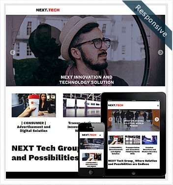 next-tech-theme
