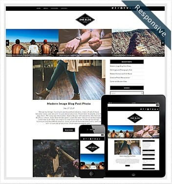premium wordpress templates - one-blog-theme