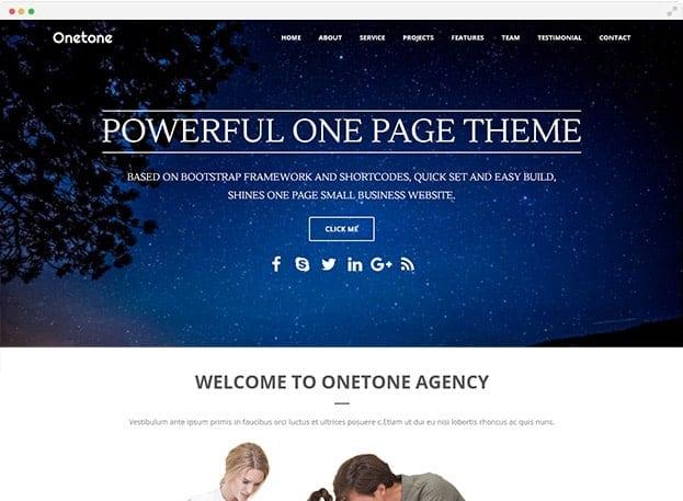 one tone
