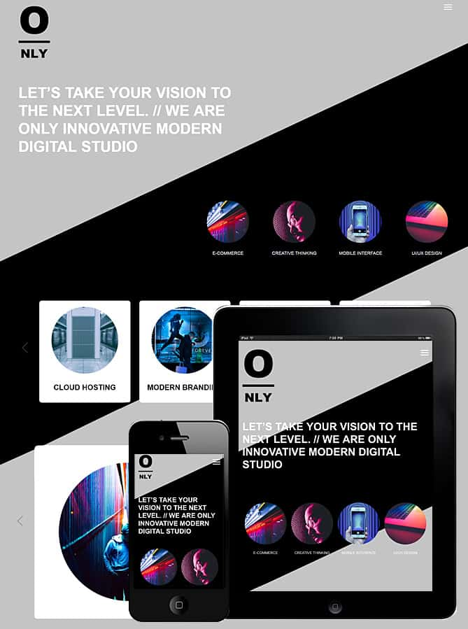 Only One Page WordPress Theme - Best WordPress Themes for Creatives ...