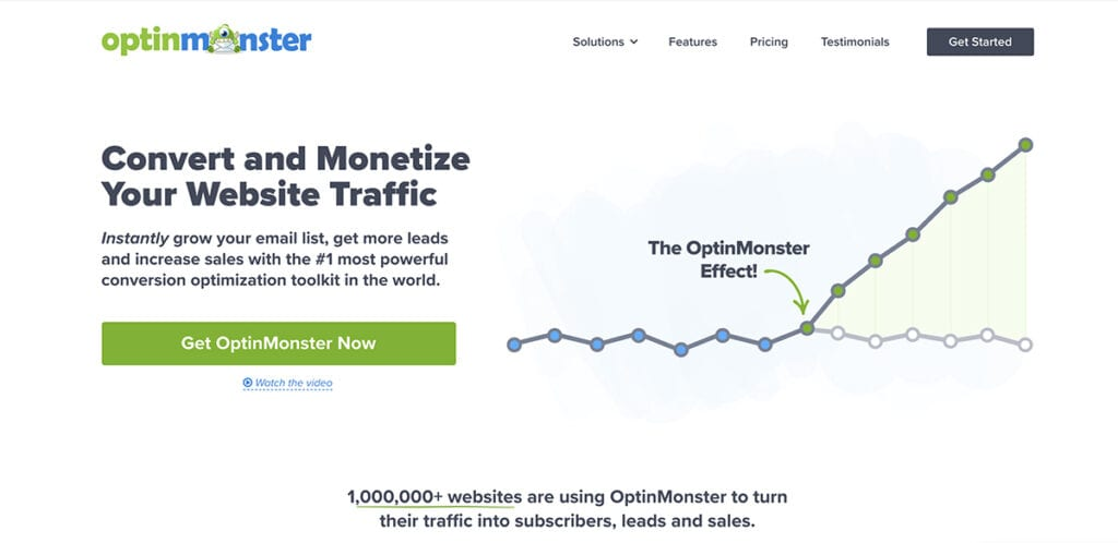 Optinmonster – Popup and Subscription