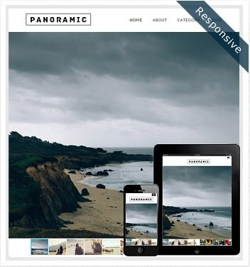 premium wordpress templates - panoramic-theme
