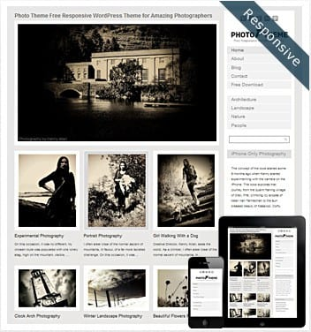 premium wordpress templates - photo-theme