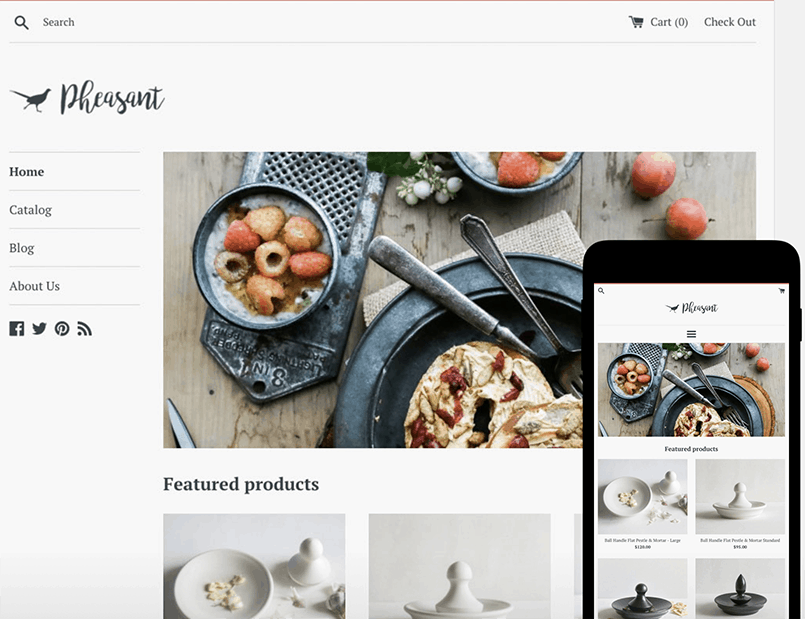 simple Free Shopify themes