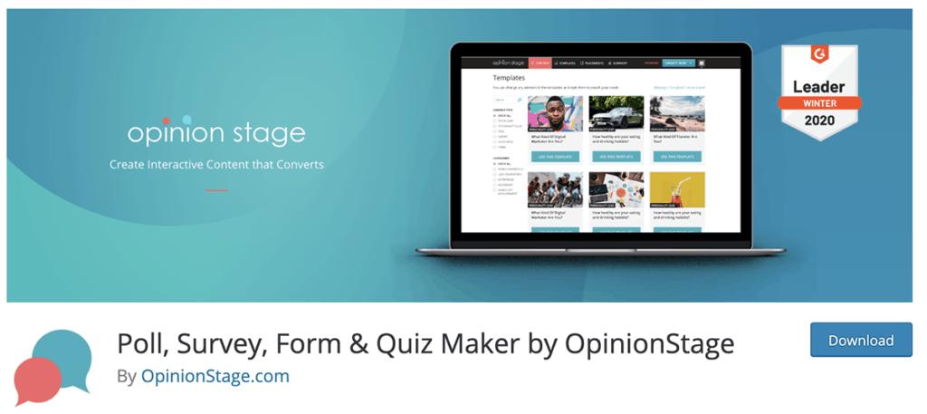 Poll, Survey, Quiz & Forms
