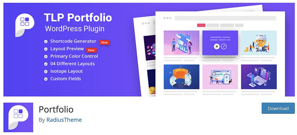 free portfolio plugin