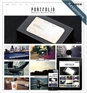 premium wordpress templates - portfolio-theme-wordpress