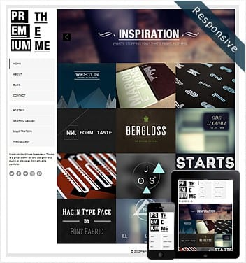 premium wordpress templates - premium-responsive-theme