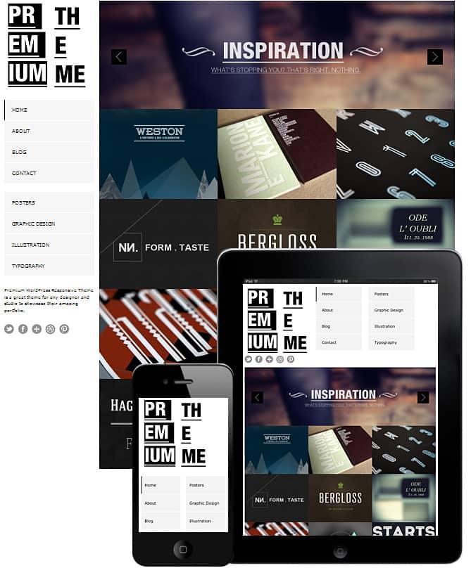 Premium WordPress Theme - Best WordPress Themes for Creatives ...