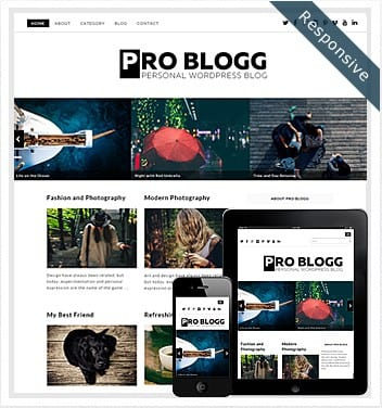 Problogg WordPress Theme Free