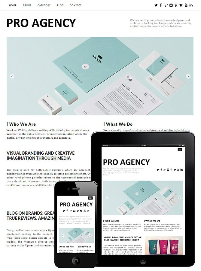 Creative Pro Agency Theme