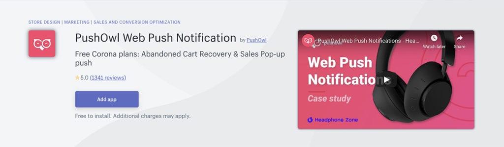 PushOwl Web Push Notification